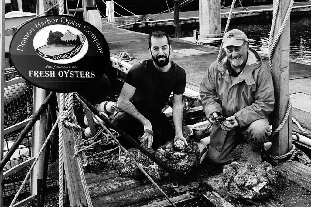 Steve Seymour-Drayton Harbor Oyster Company Picture